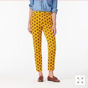 Straight-leg pant in butterfly stretch NWT